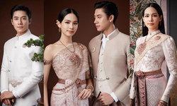 """""""บิ๊นท์ สิรีธร"""" ควง """"แจม รชตะ"""" ถ่ายแบบคู่ชุดไทยครั้งแรก รับวาเลนไทน์"""