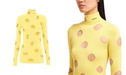 PRADA เปิดตัวเสื้อคอเตาสีเหลืองกรุบ มองแล้วหิวชีสแบบจุกๆ