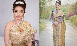 """""""แอน อรดี"""" นางเอกหมอลำเน็ตไอดอลสุดฮอต ในชุดไทยสุดสง่า"""