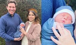 """เจ้าหญิงยูจินี และแจ็ก บรูกสแบงก์ เผยโฉมลูกชาย และที่มาของ """"ชื่อ"""" เป็นครั้งแรก"""