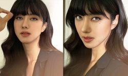 """""""ไอซ์ อภิษฎา"""" เมคอัพเปลี่ยนลุคเป็นสาวเกาหลี สวยจนจำแทบไม่ได้"""