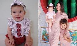 """""""น้องเอมมิลี่"""" ลูกสาว """"ซาร่า คาซิงกินี"""" วัย 7 เดือน ฉายแววความน่ารักขึ้นเรื่อยๆ"""