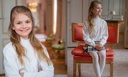 เจ้าหญิงเอสเตลล์ ผู้สืบทอดราชสันตติวงศ์ลำดับที่ 2 แห่งราชวงศ์สวีเดน ฉลองพระชันษาครบ 9 ปี