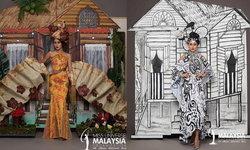 เล่นใหญ่มาก ชุดประจำชาติมาเลเซีย ในการประกวด Miss Universe 2020