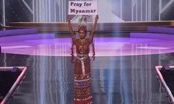 มิสยูนิเวิร์สเมียนมา คว้ารางวัลชุดประจำชาติยอดเยี่ยมบนเวที Miss Universe 2020