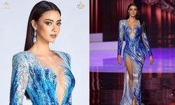 อแมนด้า ออบดัม กับชุดราตรี พร้อมกับที่มาของชุดรอบ 10 คนสุดท้าย Miss Universe 2020