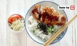วิธีทำข้าวหมูทอดสไตล์ญี่ปุ่น อาหารจานเดียวทำง่าย กรอบนอกนุ่มใน