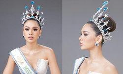 """""""ควีน เบญจรัตน์"""" กับมงกุฎ Miss Supranational Thailand 2021 มูลค่ากว่าสองล้านบาท"""