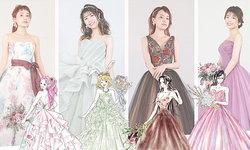 แต่งสวยจัดเต็มแล้วไปท่องแกรนด์ไลน์ พาไปส่องชุดแต่งงานธีมสาวๆ จากการ์ตูน One Piece