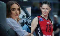 """""""Zehra Gunes"""" นักกีฬาวอลเลย์บอลหญิงทีมชาติตุรกี สวยทะลุเน็ต!"""