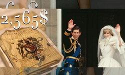 เค้กแต่งงาน 40 ปี ของเจ้าชายและเจ้าหญิงไดอาน่าถูกประมูลขายไป 85,000 บาท