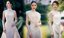 """""""ชมพู เดอะเฟซ"""" อวดโฉมความงดงามในชุดแต่งงาน 3 สไตล์ จากแบรนด์ไทยชื่อดัง"""