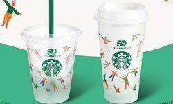 สตาร์บัคส์ ชวนลูกค้าร่วมรักษ์โลก เตรียมแจกแก้ว Reusable Cup ครบรอบ 50 ปี เป็นของขวัญ