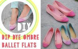 DIY รองเท้าเก่าสีจืดเป็นรองเท้าคู่ใหม่แสนจี๊ด!!
