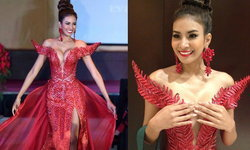 ซูม ชุดราตรี ศศิ สินทวี บนเวที Miss Earth 2014 เว้าแหวกสุดใจ!