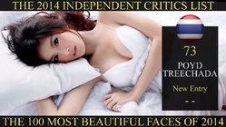 ปอย ตรีชฎา ติดอันดับ 1 ใน 100 บุคคลหน้าสวยที่สุดในโลก