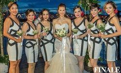 ย้อนชมความงดงามของ 4 ชุดแต่งงาน น้ำฝน กุลณัฐ