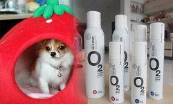สาวรักสัตว์ต้องลอง 'O2Klean' สเปรย์ปรับบรรยากาศภายในบ้าน