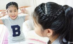 Momybowy : Hair Style for Kids 6 แบบผมรวบง่ายๆค่ะ
