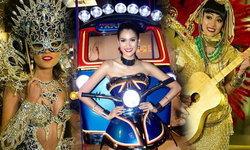 ส่องชุดประจำชาติเหล่าสาวงามก่อนขึ้นเวทีชิงมงกุฎ Miss Universe 2015