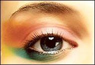 """Paradis""  Spring / Summer 2004 Mode Make-up จาก SHU UEMURA"
