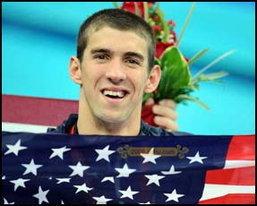 ไมเคิล เฟลป์ส หนุ่มสุดฮอตในโอลิมปิก 2008