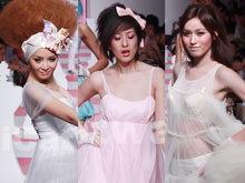 แฟชั่นโชว์ เซตน่ารักๆ จาก Kunitar & 8E88 by L'Oreal Paris