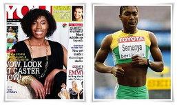 แชมป์กรีฑาหญิงโลกแต่งสวยเช้งขึ้นปก รอผลพิสูจน์เพศ