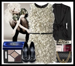 Lady Gaga Collection.. Nine Look .. Nice Pretty Wow !