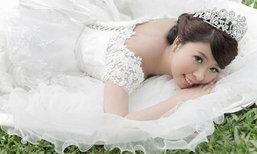 สวยสลด! สาวป่วยมะเร็ง รอคนที่ใช่ไม่ไหว ตัดสินใจถ่ายรูปแต่งงานคนเดียว