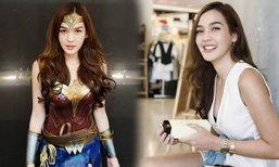 สาวแท้หลีกทาง! น้องโอเล่ คอสเพลย์ Wonder Woman สวยเนียนมาก
