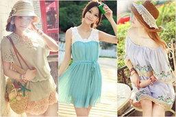แต่งสวยในระหว่างวันด้วยเสื้อผ้าสีสันสดใสช่วยคลายร้อน