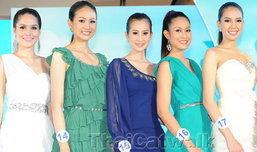 เผยโฉม 18 สาวงาม ชิงมงกุฎนางสาวไทยปี 2555