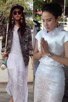 ไอเดียแต่งชุดขาวไปวัด วันมาฆบูชา