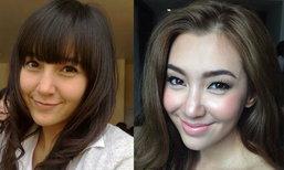 พัฒนาการความสวยของนางเอกยิ้มหวาน เบลล่า ราณี