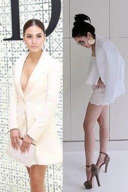 เจนี่ กับแฟชั่นชุดขาว แต่ง หรือ หย่า ก็สวยเอาอยู่!