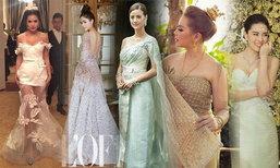 ย้อนชุดแต่งงานสุดอลังการของดาราสาวครึ่งปีแรก สวย เริ่ด แค่ไหนนั้นมาดูกัน