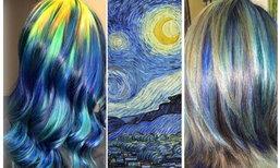 """สีสันบนเส้นผม แรงบันดาลใจจาก """"ศิลปะ"""" ชื่อก้องโลก"""