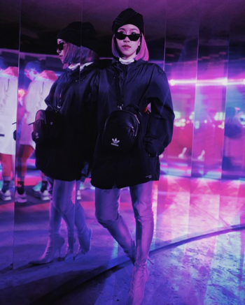 แฟชั่น Balenciaga - Purple Knife over-the-knee boots