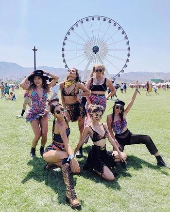 สตรีทแฟชั่น Coachella 2018