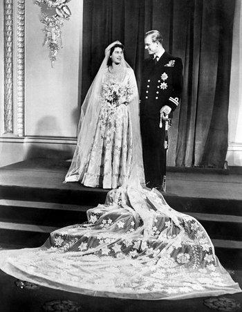 พระราชพิธีอภิเษกสมรสระหว่างสมเด็จพระราชินีนาถเอลิซาเบธที่ 2 และเจ้าชายฟิลิป