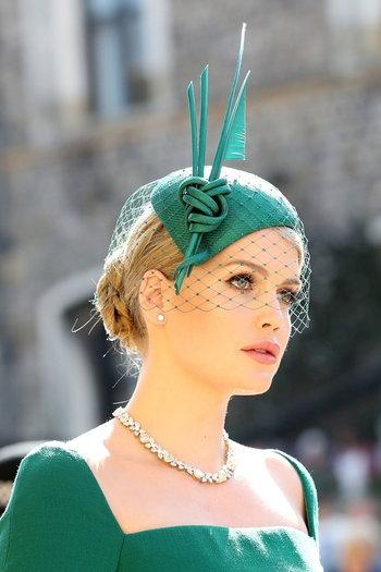 แฟชั่นหมวกของเลดี้ คิตตี้ สเปนเซอร์
