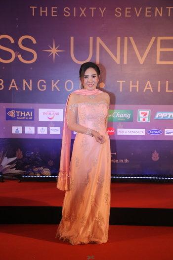 มิสยูนิเวิร์ส 2018 ชุดผ้าไหมไทย