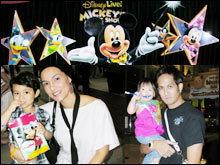 ครอบครัวสุขสันต์  เหล่าดาราพาลดู มิกกี้ เมจิก โชว์