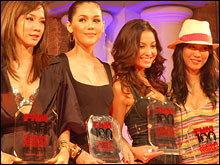 ชมพู่-อารยา คว้าตำแหน่งสาวเซ็กซี่  FHM Sexiest Women in Thailand 2007
