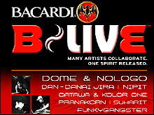 Bacardi B-LIVE