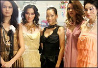 Beauty Faces Party : Fusion of Colours
