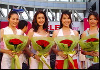 ประมวลภาพวันงาน CLEO Star Cover Contest With Discovery Club 2004 by Shu Uemura