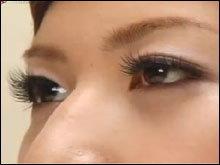 เทคนิค การติดขนตาปลอม