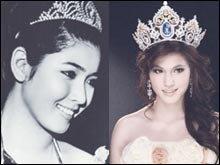 ย้อนวันวานอันแสนประทับใจกับ 5 นางสาวไทย